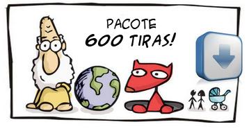 Pacote 600 tiras para download!