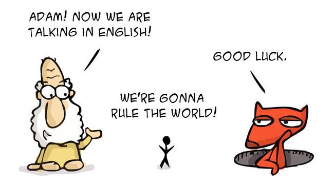 Once Upon a Saturday…Versão em inglês!