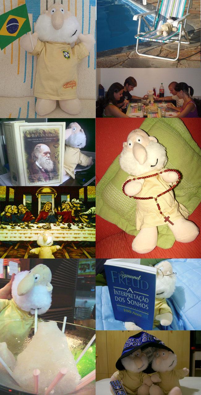 Deus de pelúcia – Foto dos leitores
