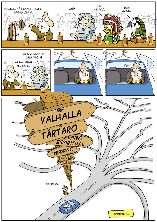 659 – Deus, em busca do paraíso! (parte 1)