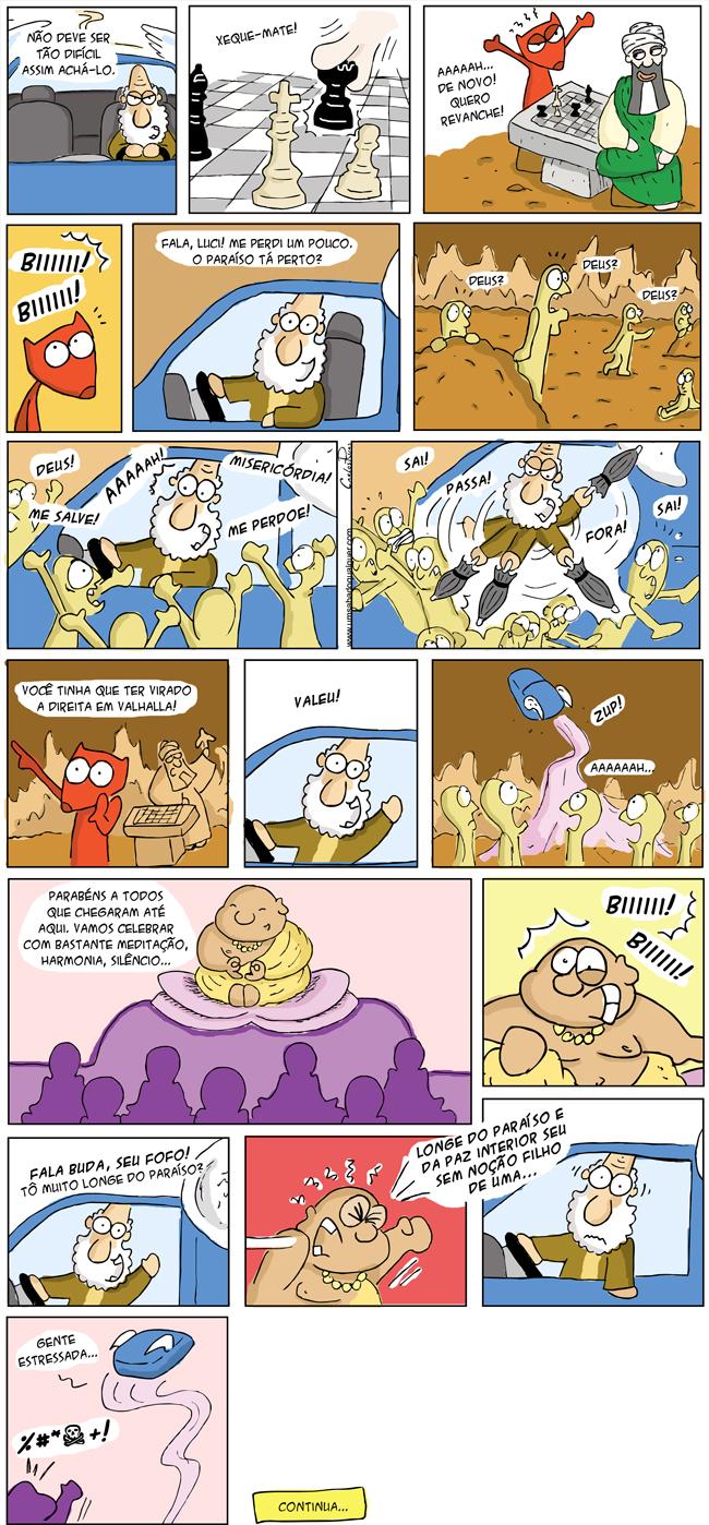 660 – Deus, em busca do paraíso! (parte 2)