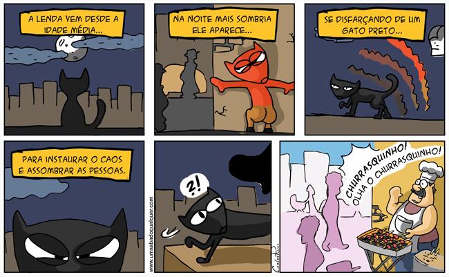 757 – A lenda do gato preto