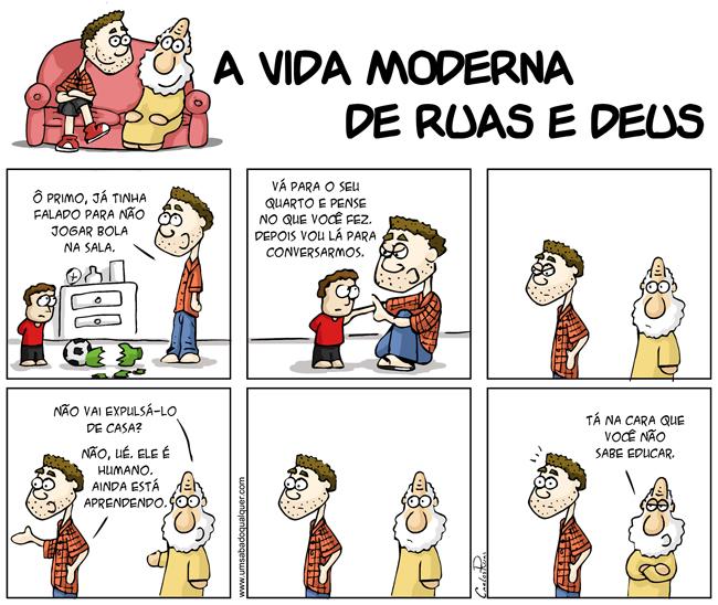 910 – A vida moderna de Ruas e Deus