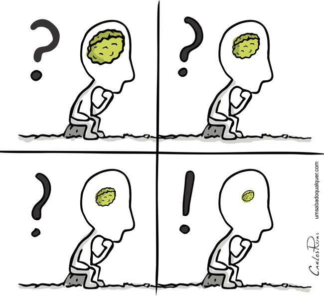 Dúvidas e certezas