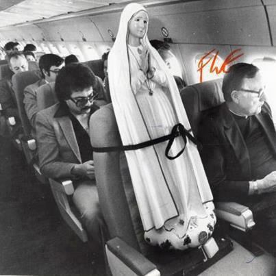 Medo de avião, eu?