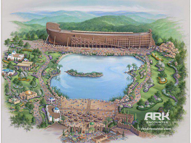 Grupo religioso tenta criar parque temático bíblico com Arca de Noé