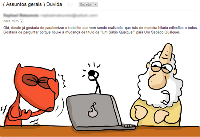 E-mail do dia
