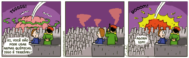 1160 – Armas químicas