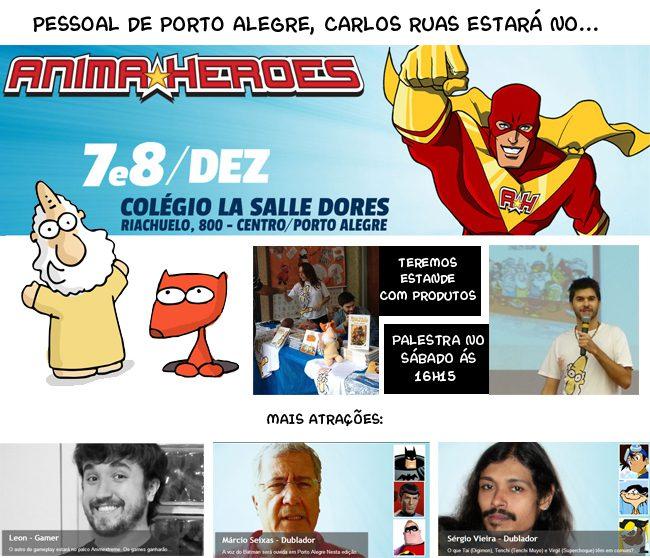 Anime Heroes em Porto Alegre