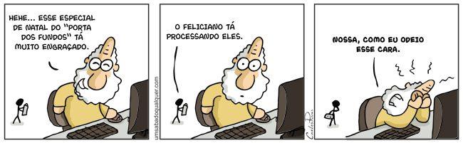 Feliciano Processa Porta dos Fundos