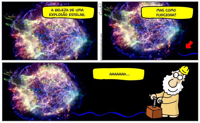 1390 – Explosão estelar