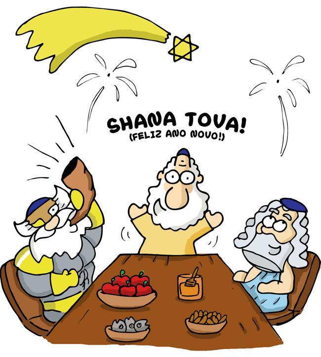 Feliz ano novo Judaico