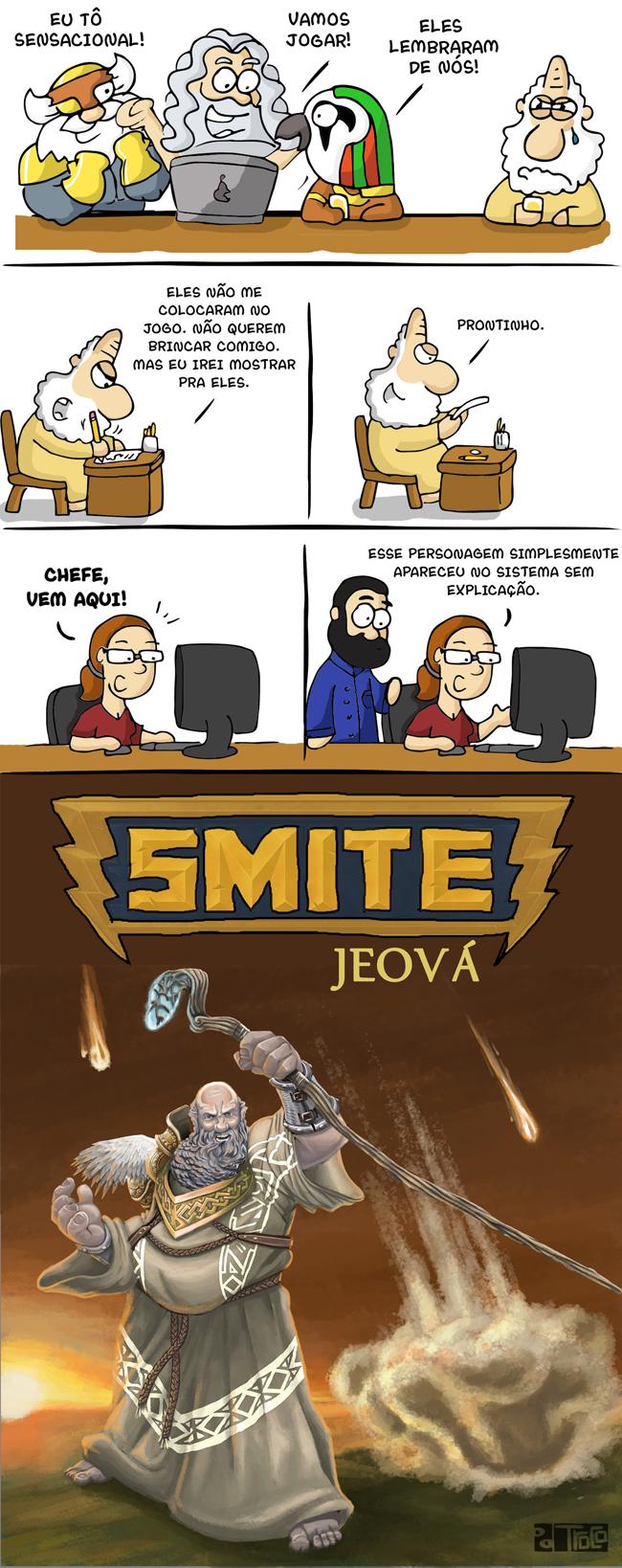 SMITE 4 – A versão de DEUS