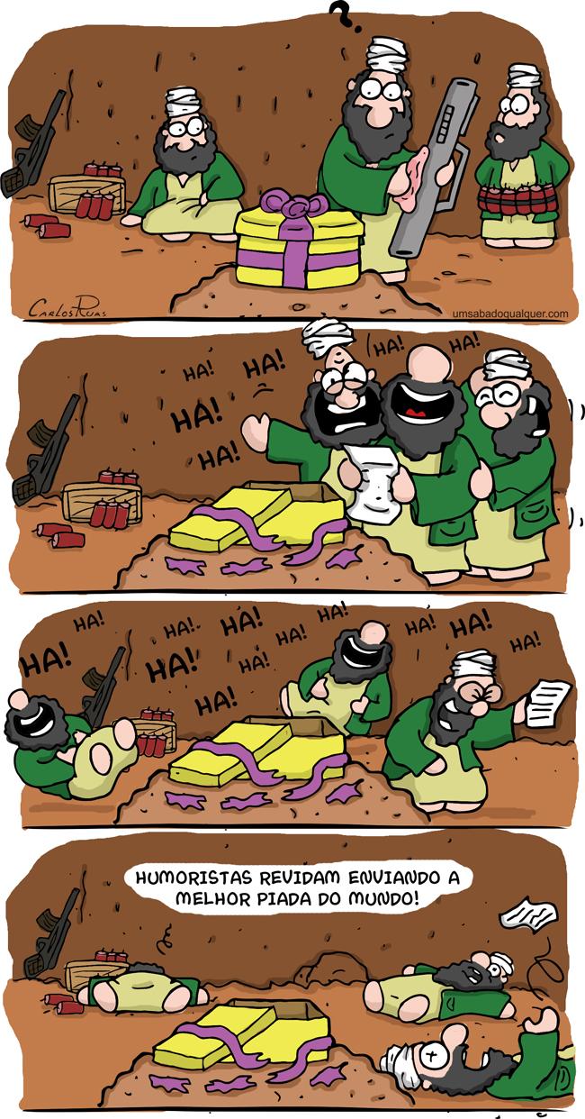 A vingança dos humoristas!