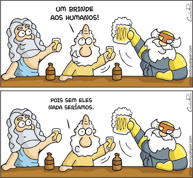 1474 – Um brinde aos humanos!