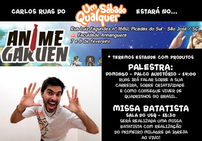 Carlos Ruas no Anime Gakuen!!!