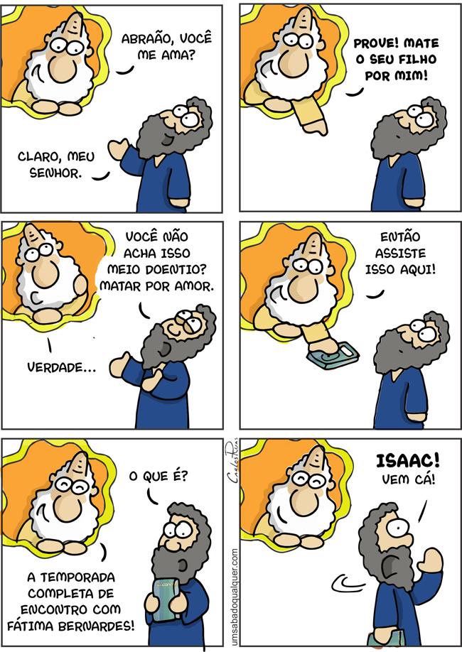 1501 – Nos bastidores de Abraão e Isaac
