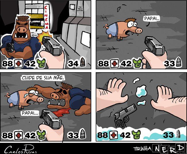 Duke Nukem – Tirinha Nerd