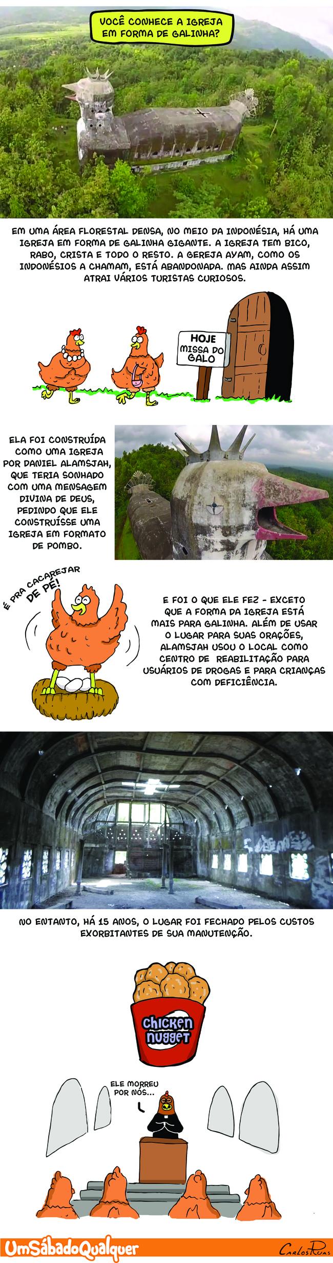 1563 – A igreja em forma de galinha