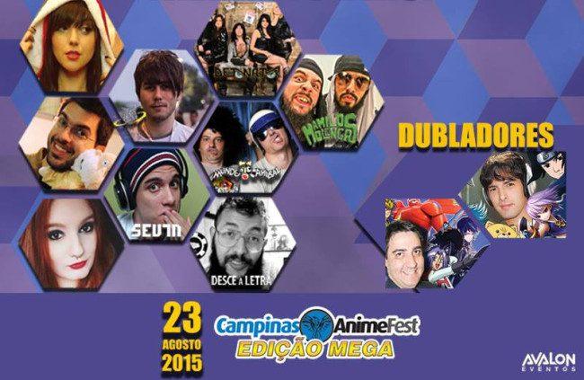Carlos Ruas no Campinas Anime Fest