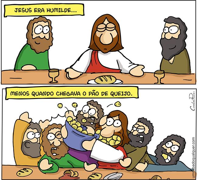 1588 – Jesus era humilde, menos quando…