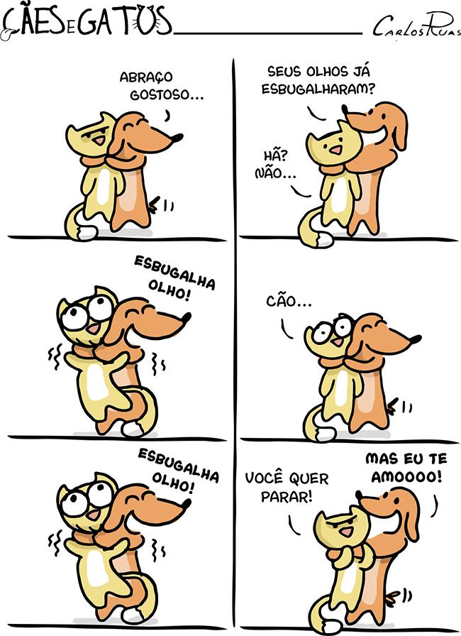 Cães e Gatos – Abraço 2