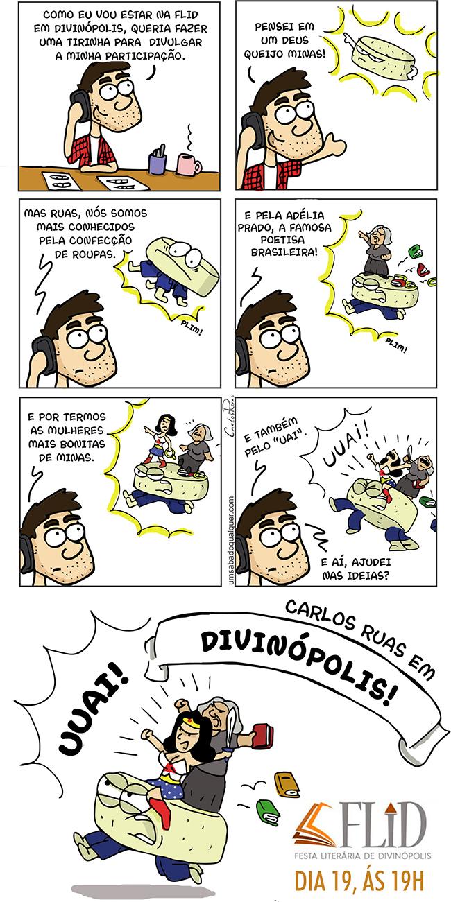 Povo de Divinópolis – MG, tô chegando!