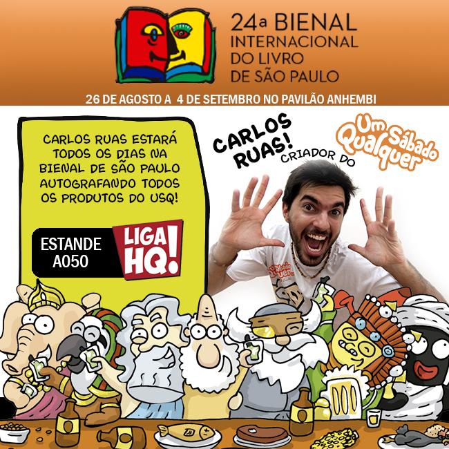 Carlos Ruas na Bienal de São Paulo!