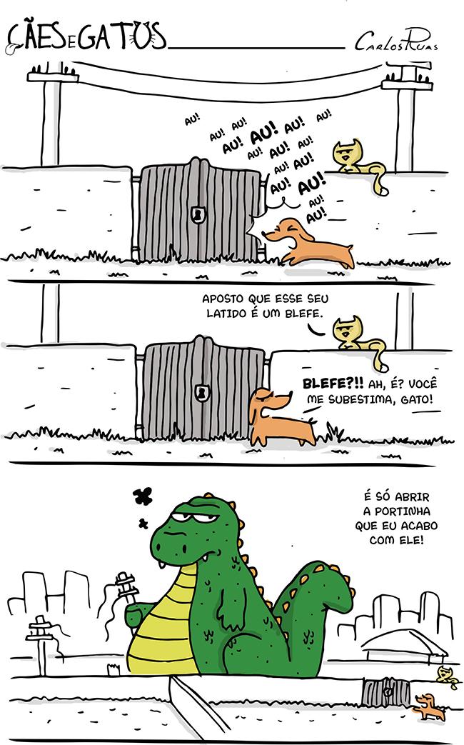 Cães e Gatos – O blefe!