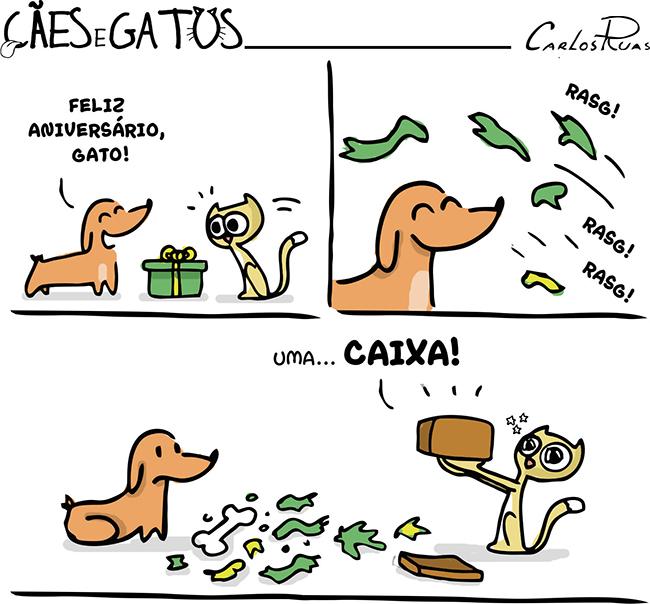 Cães e Gatos – Melhor presente!