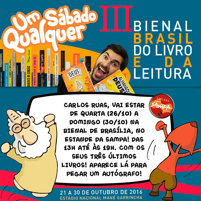 Carlos Ruas na bienal de Brasília!
