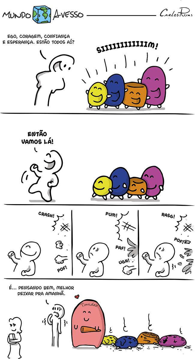 Mundo Avesso – Timidez 2