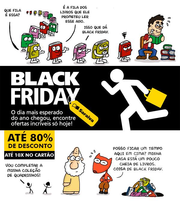 Black Friday na SARAIVA!