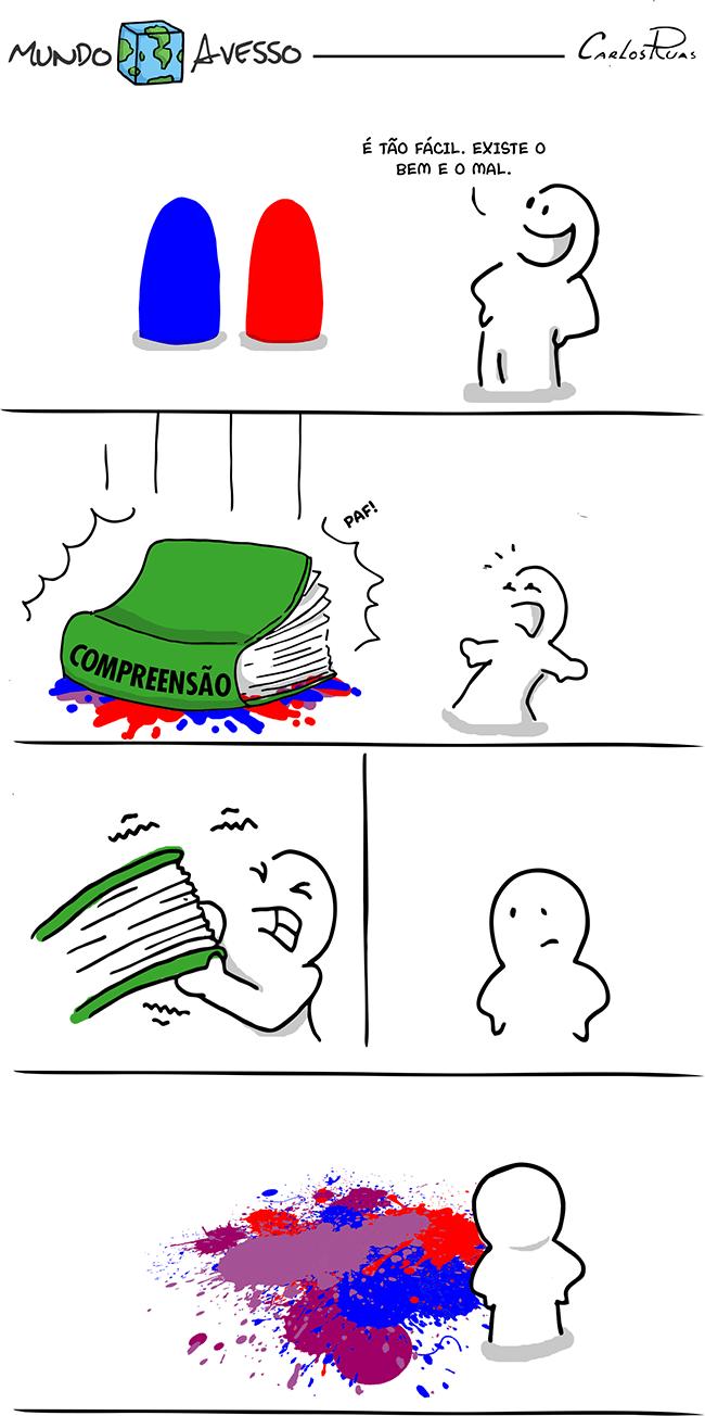 Mundo Avesso – Bem e Mal