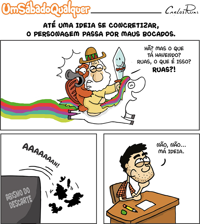 Pobres personagens…