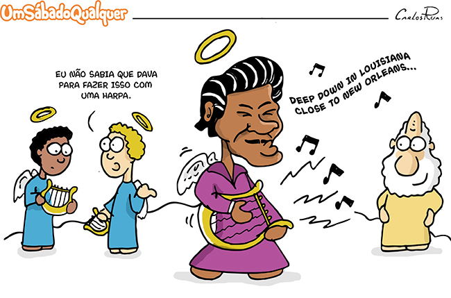 Minha homenagem a lenda do rock, Chuck Berry!