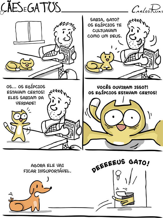 Cães e gatos – Deeeeus gato! 1