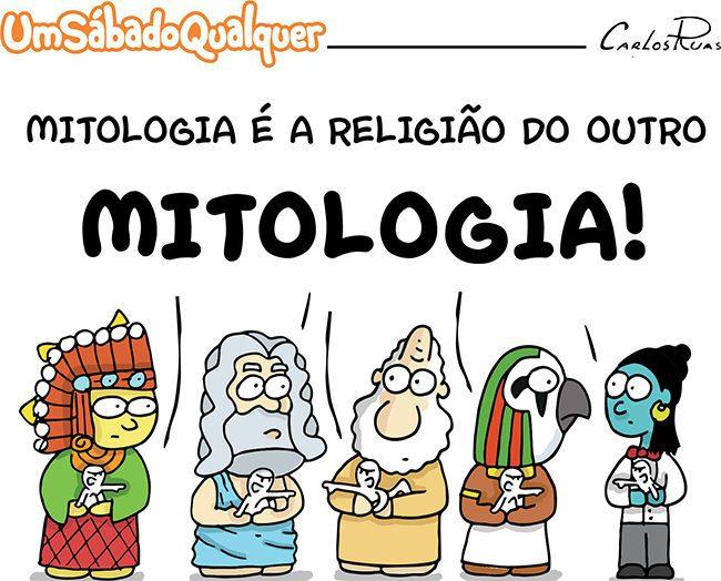Mitologia é a religião do outro