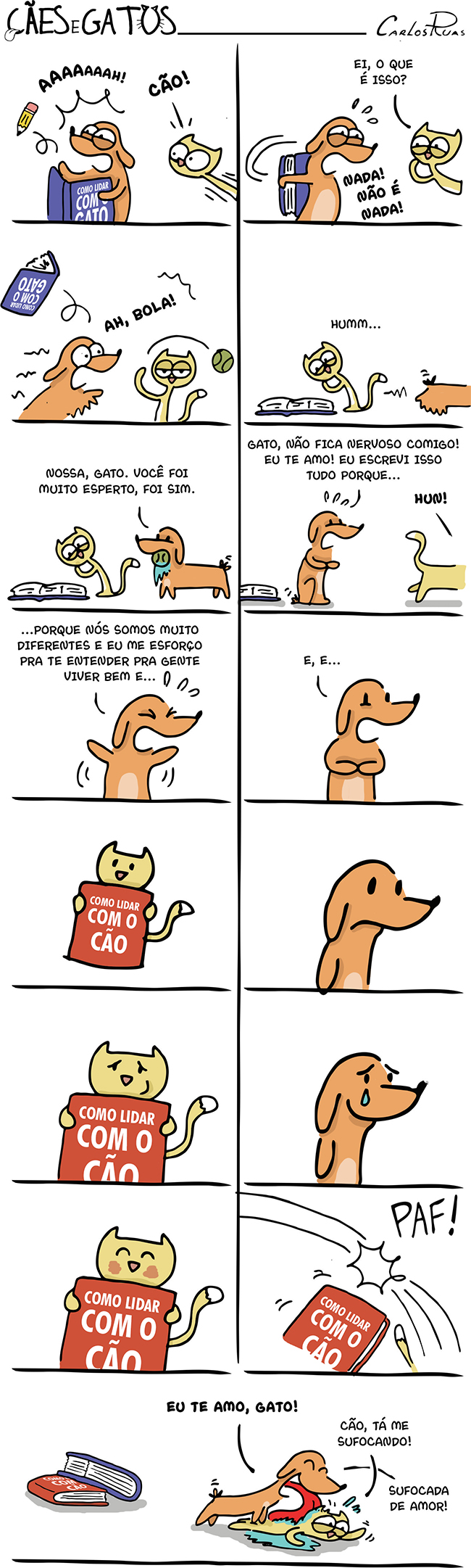 Cães e Gatos – Manual de como lidar com o gato 4
