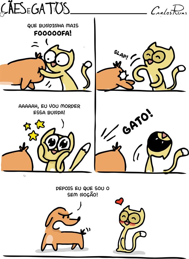 Cães e Gatos – Buzanfa!
