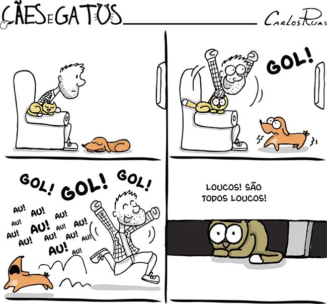 Cães e gatos – São todos loucos!