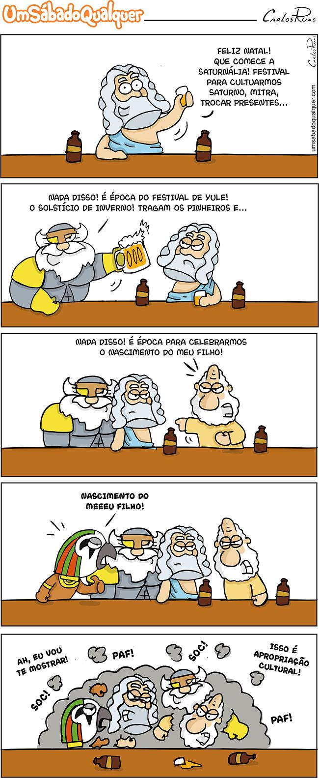 Feliz natal dos Deuses!
