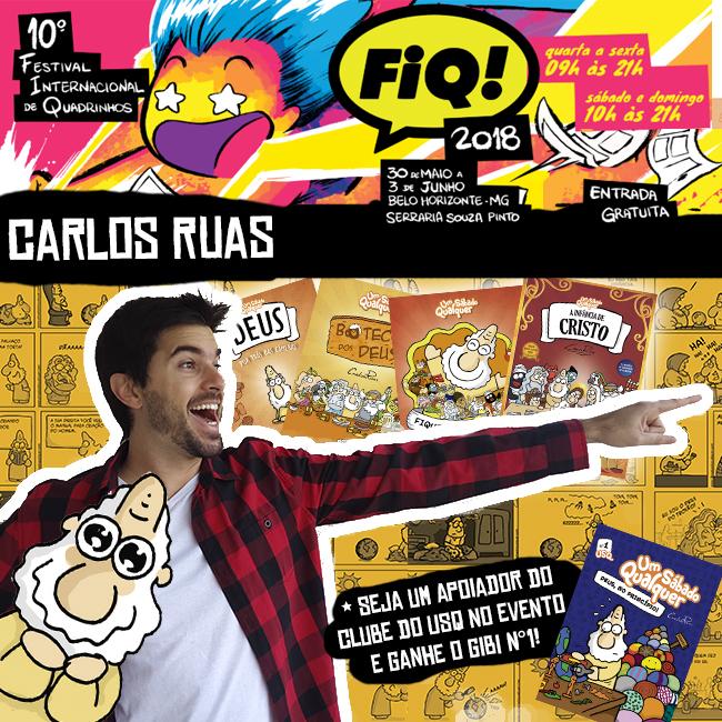Carlos Ruas em Belo Horizonte!
