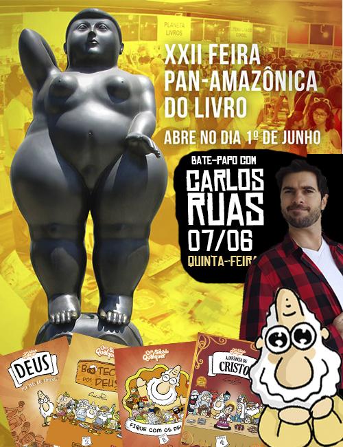 Carlos Ruas em Belém!