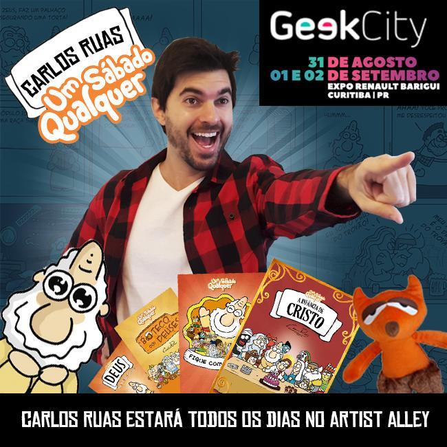 Carlos Ruas em Curitiba!