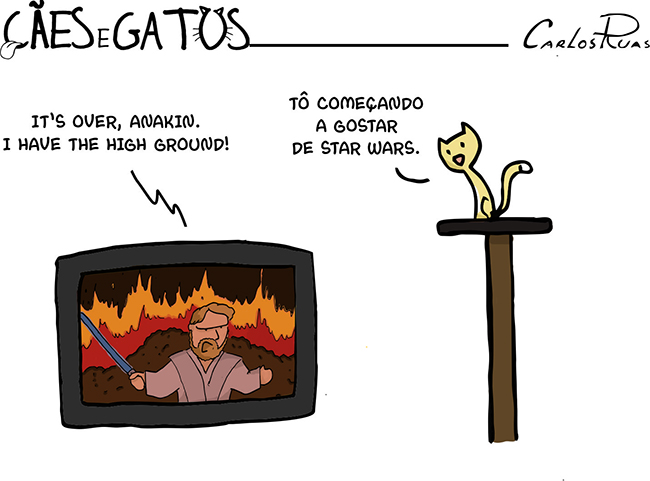 Cães e Gatos – High ground