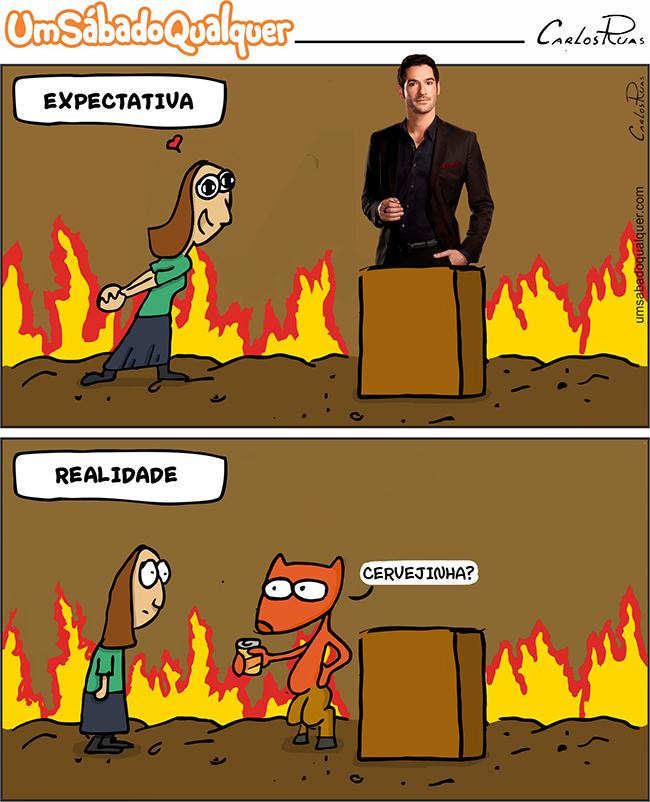 Expectativa x Realidade