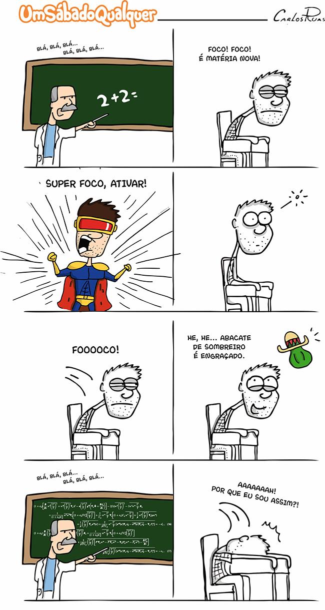 USQ – Foco!