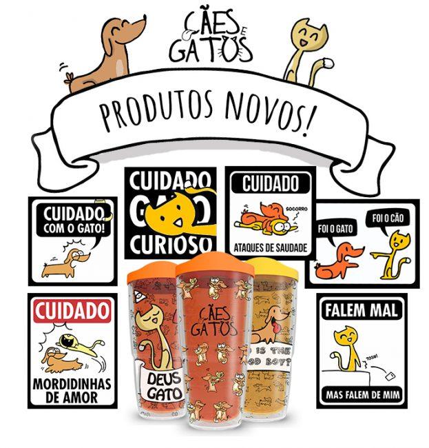Novos produtos – Cães e Gatos