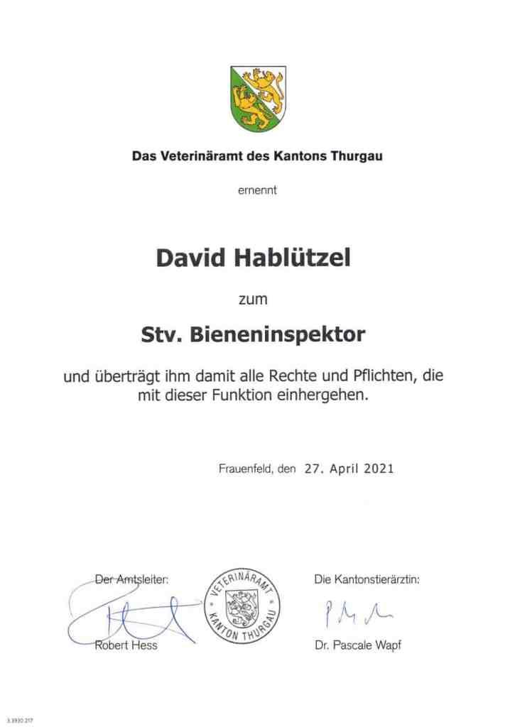 Bieneninspektor Diplom scaled